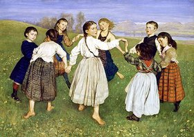 Hans Thoma: Kinderreigen