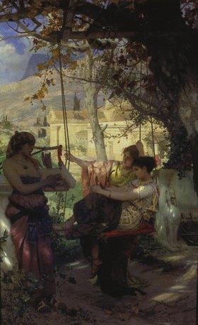 Genrikh Ippolitovich Semiradski: Das Lied der Sklavin