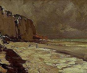 Alexejew. Konstantin Korovin: Meeresküste bei Djenn