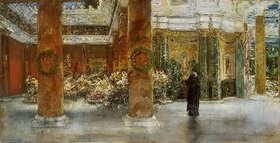 Albert von Keller: Kaiserin Faustina im Tempel zu Praneste