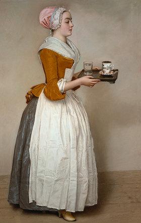 Jean Etienne Liotard: Das Schokoladenmädchen