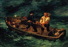 Eugene Delacroix: Nach dem Schiffbruch