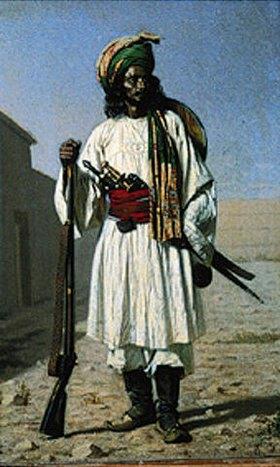 Wassili Werestschagin: Afghanischer Krieger