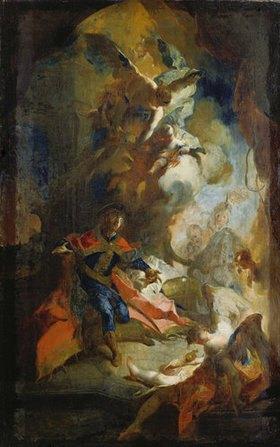 Franz Anton Maulbertsch: Verherrlichung des Heiligen Stephanus von Ungarn