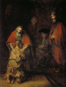 Rembrandt van Rijn: Die Heimkehr des Verlorenen Sohnes