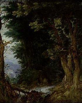 Jan Brueghel d.Ä.: Waldlandschaft