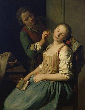 Pietro Antonio Rotari: Schlafendes Mädchen