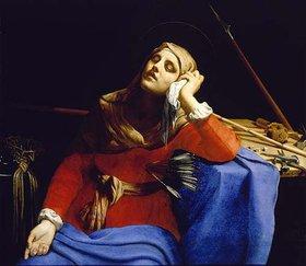 Guido (gen.Cagnacci) Canlassi: Die schmerzhafte Muttergottes