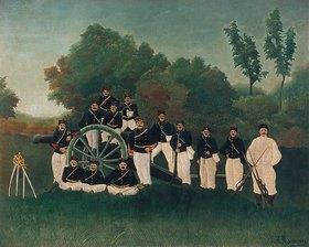 Henri Rousseau: Die Artilleristen
