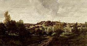 Charles-François Daubigny: Landschaft bei Auvers-sur-Oise