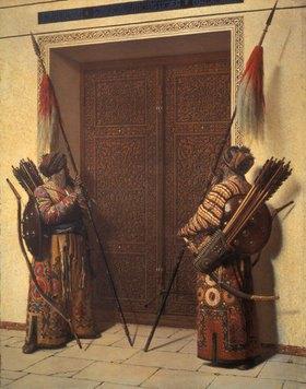Wassili Werestschagin: Die Türen des Timur-Mausoleums in Samarkand