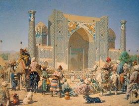 Wassili Werestschagin: Ein Fest in Samarkand