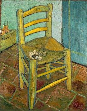 Vincent van Gogh: Van Gogh's Stuhl in Arles mit Pfeife