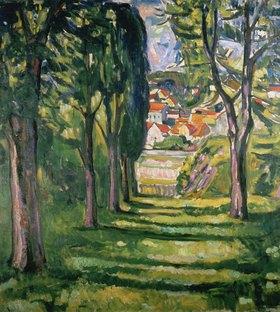Edvard Munch: Park in Kragerø, Norwegen