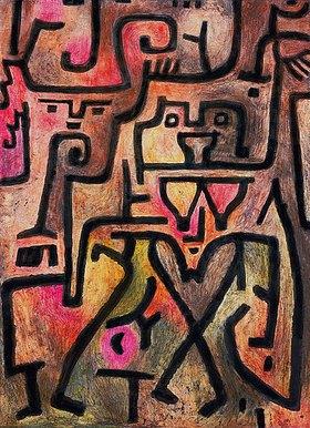 Paul Klee: Waldhexen