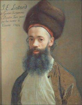 Jean Etienne Liotard: Selbstbildnis
