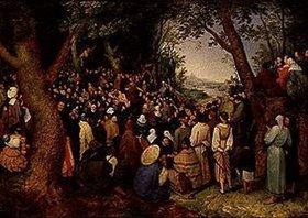 Jan Brueghel d.Ä.: Die Predigt Johannes des Täufers
