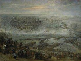 Pieter Snayers: Der Entsatz der Stadt Freiberg in Meißen
