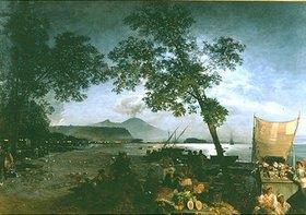 Oswald Achenbach: Am Golf von Neapel
