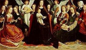 Gerard David: Madonna, umgeben von Heiligen