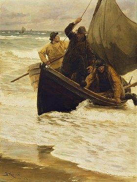 Peter Severin Kroyer: Heimkehr der Fischer. (Skagen 1885)