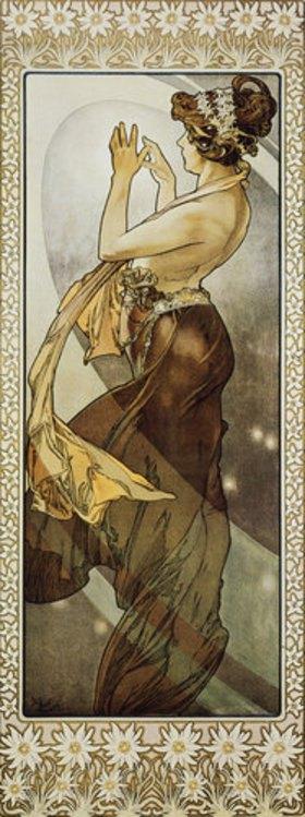 Alfons Mucha: Sterne: Der Polarstern. 1902. (Variante B)