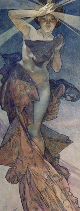 Alfons Mucha: Sterne: Der Morgenstern