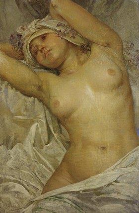 Alfons Mucha: Mädchenakt