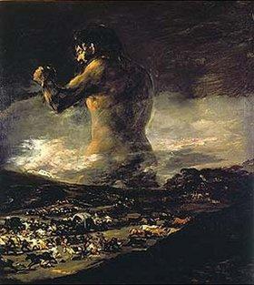 Francisco José de Goya: Der Koloss