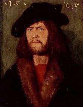Hans (Suess) von Kulmbach: Portrait eines jungen Mannes