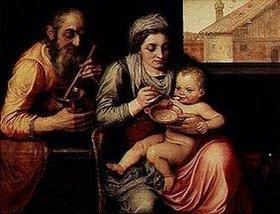 Frans Floris de Vriendt: Die heilige Familie