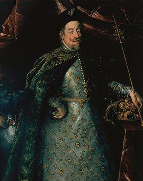 Hans von Aachen: Kaiser Matthias (1557-1619) als König von Böhmen (Ausschnitt)