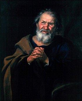 Johann Rudolf Byss: Der hl.Petrus (Ausschnitt)