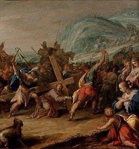 Hans von Aachen: Kreuztragung Christi (Ausschnitt)