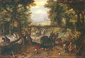 Jan Brueghel d.Ä.: Waldausgang