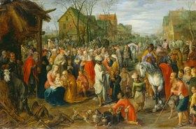 Jan Brueghel d.J.: Die Anbetung der hl.drei Könige