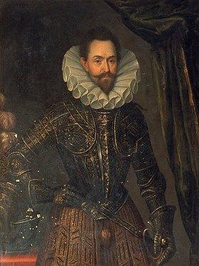 Anonym: Albrecht von Wallenstein. Portraitbild eines zeitgenössischen Malers