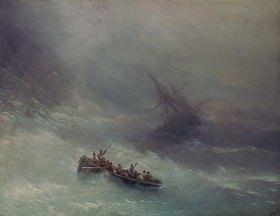 Iwan Konstantinovich Aiwassowskij: Der Regenbogen (Schiffbruch)