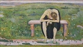 Ferdinand Hodler: Enttäuschte Seele (Junger Mann)