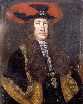 Anonym: Bildnis Kaiser Karls VI. (1685-1740) aus dem Hause Habsburg, König von Ungarn un