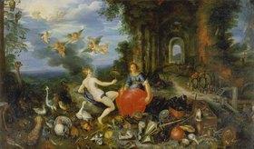 Jan Brueghel d.J.: Feuer und Luft. (Ausgeführt mit Frans Francken d.J.)