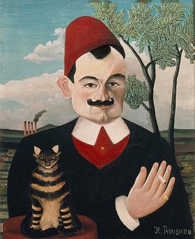Henri Rousseau: Bildnis Pierre Loti