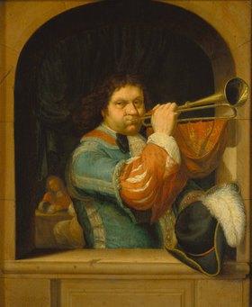 Frans van Mieris d.Ä.: Ein Trompeter