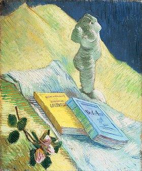 Vincent van Gogh: Stilleben mit einer Gips-Figur