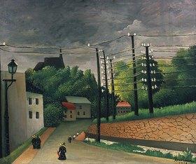 Henri Rousseau: Die Telegrafenmasten in Malakoff