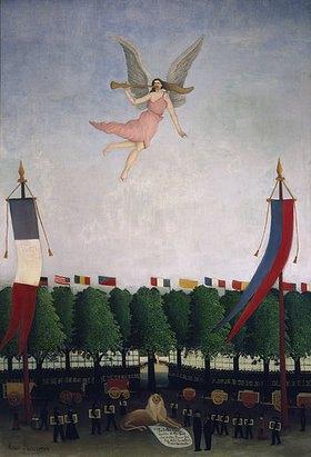 Henri Rousseau: Die Freiheit lädt die Künstler zum 22. Salon der Unabhängigen ein