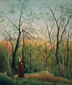 Henri Rousseau: Am Waldrand