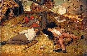 Pieter Brueghel d.Ä.: Das Schlaraffenland