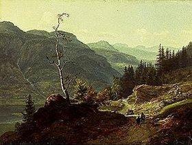 Johan Christian Clausen Dahl: Tal in Valdres