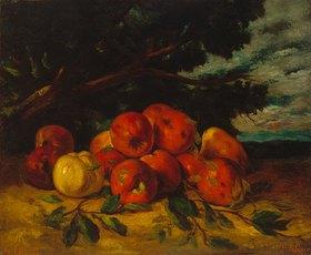Gustave Courbet: Apfelstilleben